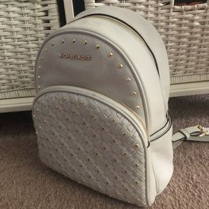 Authentic Michael Kors Studded Backpack